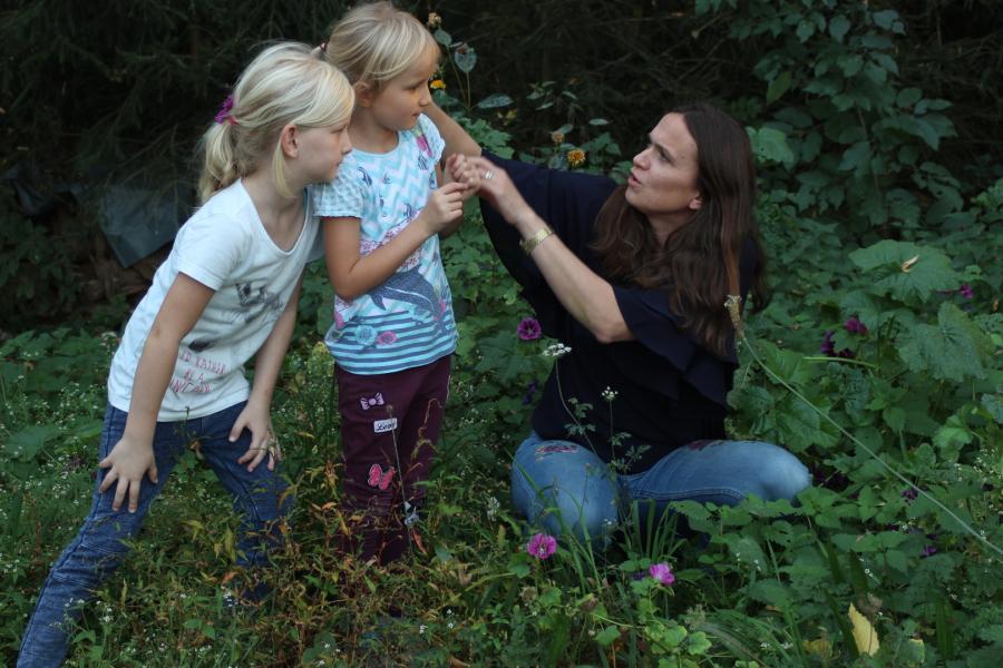 Kräuter kennenlernen mit kindern